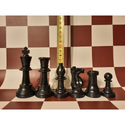 Šachmatai turnyriniai. Komplektas su lenta. Plastikiniai....