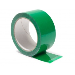 Lipni juosta 48mm x 66m, akrilas, žalia