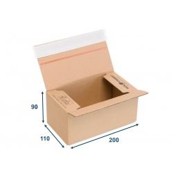 Greitai surenkama kartoninė dėžė siuntoms, paštomatui....